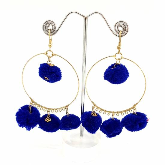 Earring textile