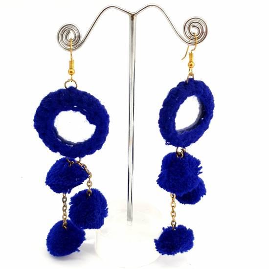 Earring textile