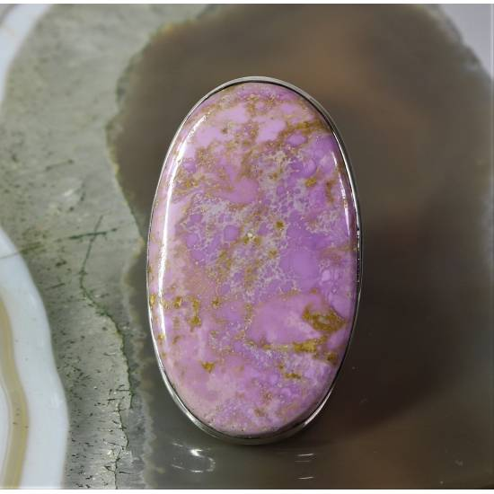 Phosphosiderite ring