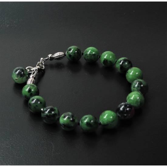 Zoisite bracelet